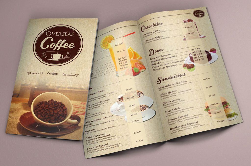 menu cafe5