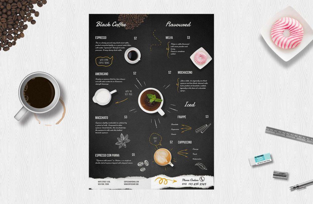 menu cafe9