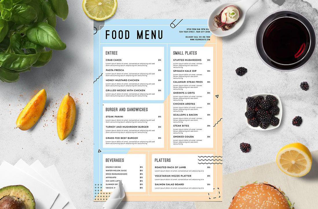 Điểm danh các loại menu từ a đến z cho năm mới