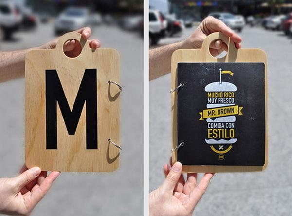 Thiết kế menu sáng tạo cho quán cafe, nhà hàng.