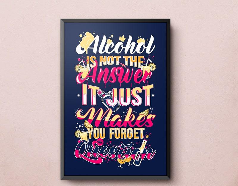 Poster Typography với thiết kế đầy màu sắc nhỉ nhảnh