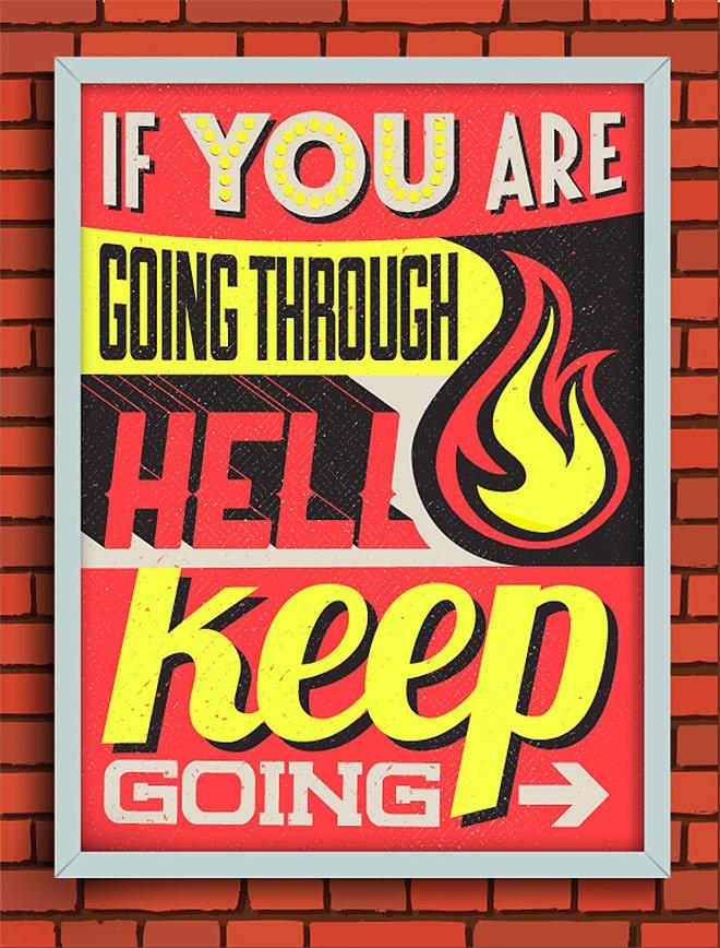 Thiết kế poster kiểu Typography mạnh mẽ