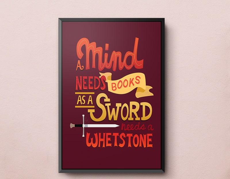 Mẫu thiết kế poster thú vị bằng Typography