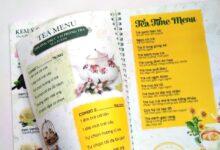 Photo of In menu nhựa mỏng xé không rách cao cấp tại TPHCM