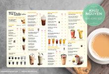 Photo of Mẫu menu trà sữa đẹp, dễ thương thu hút khách hàng.