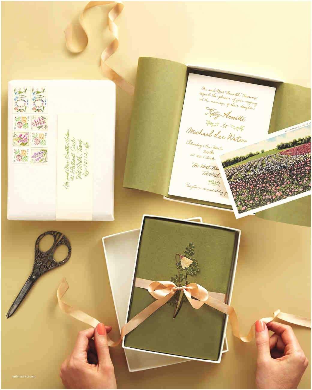 Ý tưởng làm thiệp cưới đẹp bằng hộp - thiệp hộp