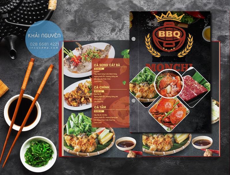 Menu BBQ - MOCHI Restaurant