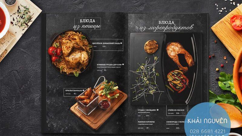 MENU BBQ - Thiết kế menu nướng đặc biệt