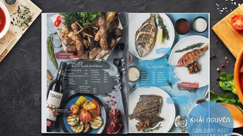 Bí kíp thiết kế menu cho nhà hàng BBQ cuốn hút