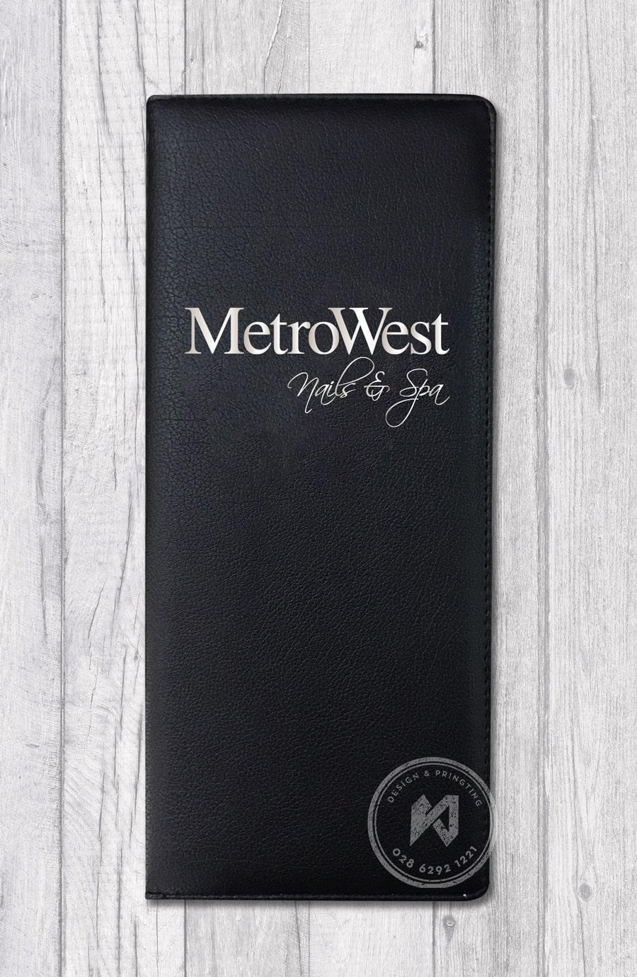 Mẫu menu MetroWest Nails & Spa