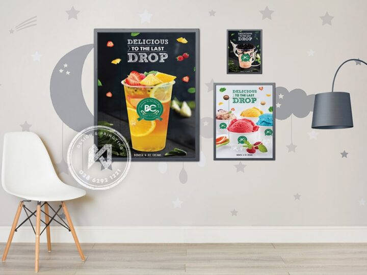 Thiết kế in ấn poster coffee đẹp